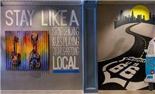 Hotel Versey Hallway Artwork at Hotel Versey