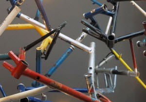 Bike Sculpture by Zac Ridgely and John Tong