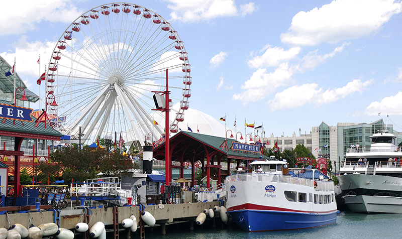 Navy Pier at Chicago