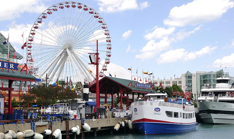 Navy Pier at Chicago